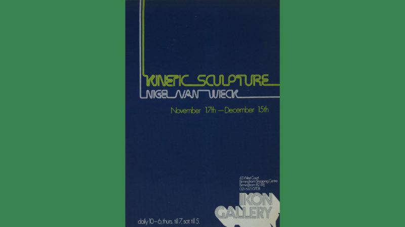 Kinetic Sculpture, Ikon Gallery, Birmingham