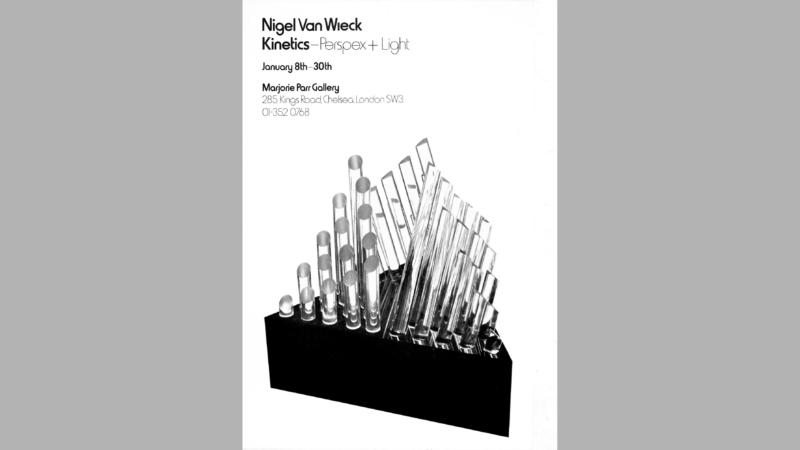 Kinetics — Perspex + Light, Majorie Parr Gallery, London